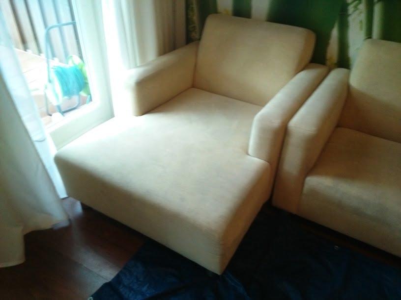 lounge bank reinigen