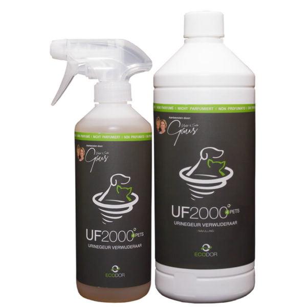 UF2000 500 ml + 1 liter navulling